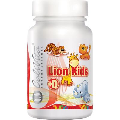 Lion Kids + D (90 tablete)
